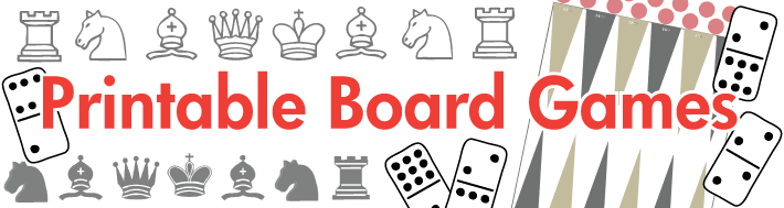 graphic regarding Printable Board Games Pdf called Printable Board Online games
