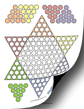 printable chinese checkers