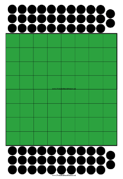 Reversi Board Printable Board Game