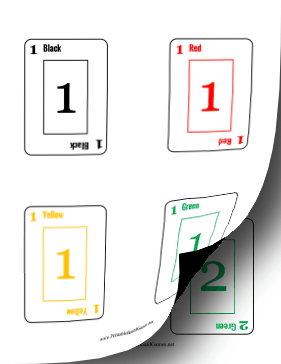 Rook Cards Printable Board Game